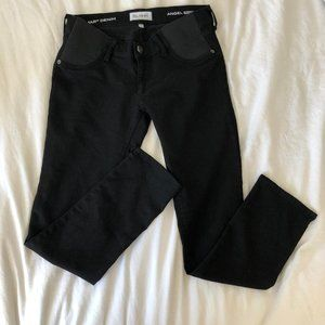 DL1961 Skinny Maternity Black Jean